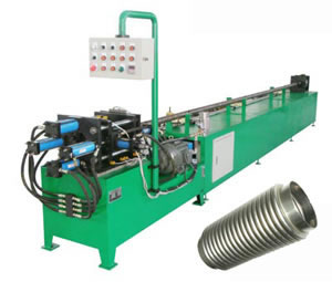 Corrugated Steel Pipe Forming Machine